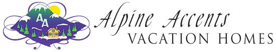 Alpine Accents Vacation Rentals Logo