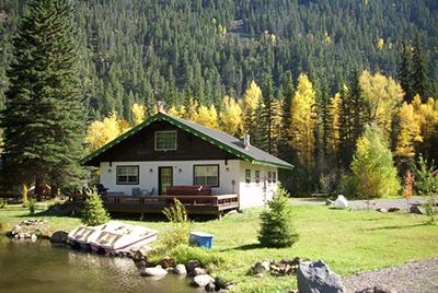 Gressoney Vacation Rental Cabin South Fork Colorado